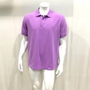 Vineyard Vines Mens Lavender Polo Shirt